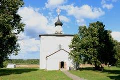 Kyrkan av Boris och Gleb i Kideksha arkivbilder