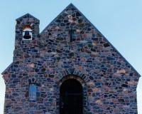 Kyrkan av den bra herden On Lake Tekapo i Nya Zeeland royaltyfri foto