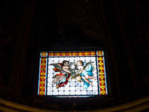 Kyrkan av den Gesà ¹en lokaliseras i den piazzadel Gesà ¹en i Rome royaltyfri foto