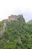 Kyrkan av den heliga modern av guden i Asen Fortress Arkivbild