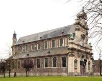 Kyrkan av den lilla Beguine klosterNotre-Dame teren Hoyen Ghent Belgien Arkivfoto