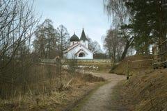 Kyrkan av den livgivande Treenighet Arkivbilder