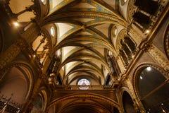 Kyrkan av den Santa Maria de Montserrat kloster Arkivbilder