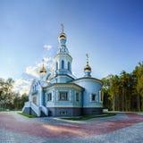 Kyrkan av den välsignade jungfruliga Maryen Royaltyfria Bilder
