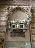 Kyrkan av Eremitanien är en Augustinian kyrka av det 13th århundradet Padua, Royaltyfria Foton