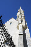 Kyrkan av fattiga Clares, Bratislava Arkivfoto