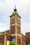 Kyrkan av hamnplatsen för St Benet Pauls i London Royaltyfri Bild