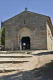 Kyrkan av helgonet Miguel gör Castelo Arkivbild