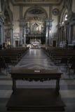 Kyrkan av kloster av San Marco - en gammal dominikan mona arkivfoton