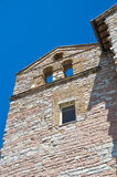 Kyrkan av Madonna delle steg. Assisi. Umbria. Italien. royaltyfria bilder