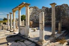 Kyrkan av Mary i Ephesus, Turkiet Arkivbild