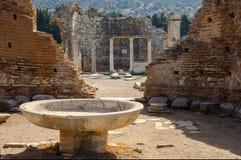 Kyrkan av Mary i Ephesus, Turkiet Royaltyfri Fotografi