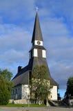 Kyrkan av Rovaniemi, Finland Arkivfoton