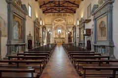 Kyrkan av San Francesco Fotografering för Bildbyråer