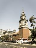 Kyrkan av San Francisco, den katolska templet och den gamla kloster, in arkivbilder