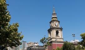 Kyrkan av San Francisco, den katolska templet och den gamla kloster, in royaltyfri bild