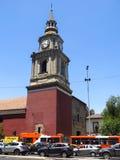 Kyrkan av San Francisco, den katolska templet och den gamla kloster, in royaltyfri fotografi