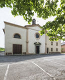 Kyrkan av San Pietro Apostolo Arkivfoto