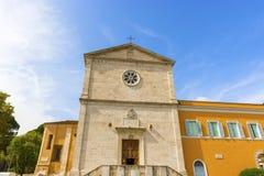 Kyrkan av San Pietro i Montorio i Rome, Italien Arkivbilder