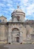 Kyrkan av San Pietro i Vico del Gargano Arkivbilder