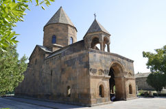Kyrkan av Shoghakat royaltyfri bild