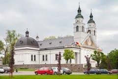 Kyrkan av St Antoniego Padewskiego i Sokolka, Polen Royaltyfri Foto