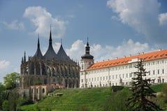Kyrkan av St. Barbara Arkivfoto