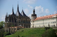 Kyrkan av St. Barbara Arkivbilder