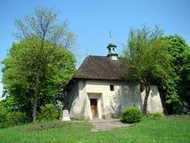 Kyrkan av St Benedict, Krakow, Polen Arkivfoton