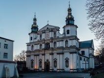 Kyrkan av St Bernard i Krakow Royaltyfria Foton
