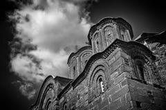 Kyrkan av St George Crkva Svetog Djordja royaltyfria foton
