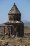 Kyrkan av St Gregory på anien i östliga Turkiet Arkivbild