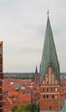 Kyrkan av St John - den äldsta kyrkan i Lueneburg Arkivbild