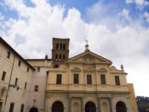 Kyrkan av St John i Lateran i Rome Italien royaltyfri foto