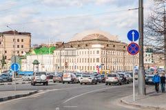 Kyrkan av St Martin biktfaderen, Alexander Solzhenitsyn Street, 15 Fotografering för Bildbyråer