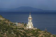 Kyrkan av St. Nicholas Of Myra Fotografering för Bildbyråer
