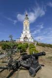 Kyrkan av St. Nicholas Of Myra Arkivfoto
