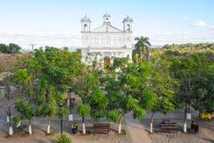 Kyrkan av Suchitoto Arkivbilder