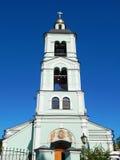 Kyrkan av symbolen av vår livgivande vår för dam The i det Tsaritsyno museet och reserven Arkivbilder