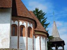 Kyrkan av Szalonna (Ungern) Arkivbild