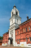 Kyrkan av Theotokosen av Tikhvin i Noginsk - Moskvaregion, Ryssland Arkivfoto