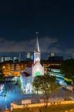 Kyrkan av vår dam av Lourdes är en katolsk kyrka i Singap Royaltyfria Foton