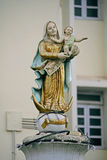 Kyrkan av vår dam Of The Rosary royaltyfri bild