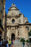 Kyrkan av Valencia royaltyfri fotografi