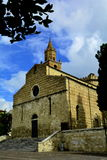 Kyrkan (Duomo) i Teramo Italien arkivfoto