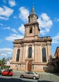 Kyrkan för helig Treenighet avmaskar in, Tyskland Royaltyfria Foton