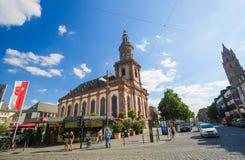 Kyrkan för helig Treenighet avmaskar in, Tyskland Royaltyfri Fotografi