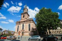Kyrkan för helig Treenighet avmaskar in, Tyskland Royaltyfria Bilder