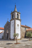 Kyrkan för Santa Maria DOS Anjos i Valenca gör Minho Royaltyfri Bild