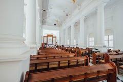Kyrkan för St George ` s är kyrka för århundrade för th 19 en anglikansk i staden av George Town i Penang, Malaysia Arkivfoto